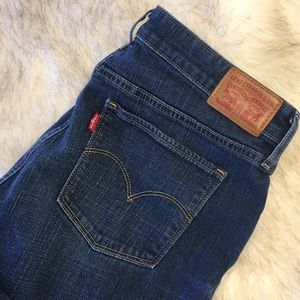 NWOT Levi's 721 High Rise Skinny Jeans
